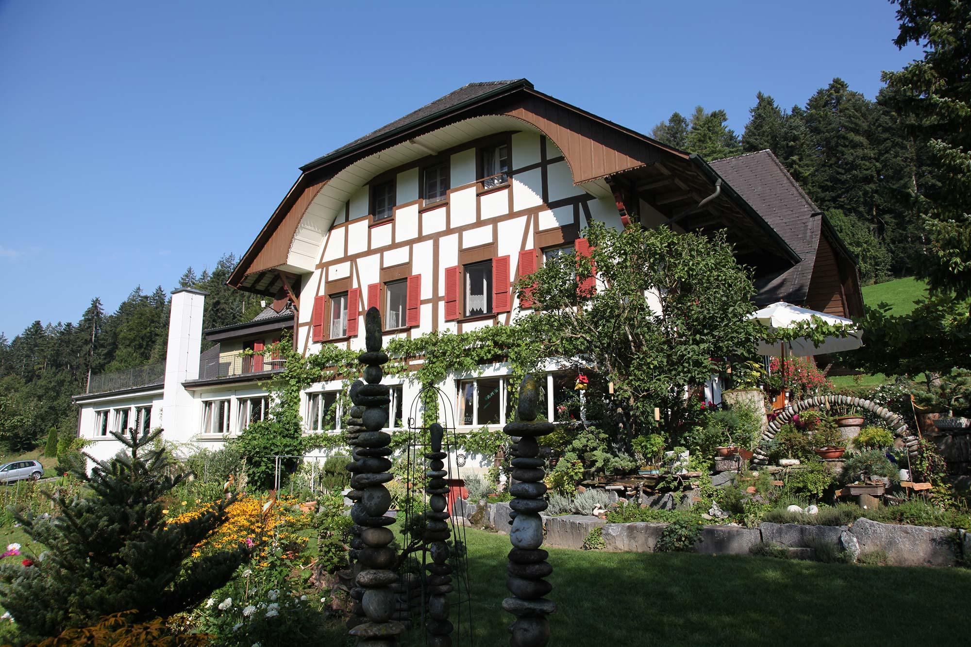 Haus   Frühling im Bürgisweyerbad