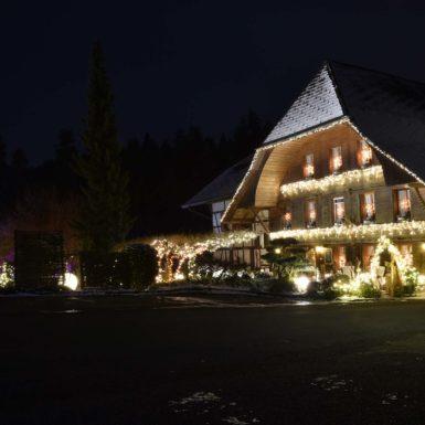 Haus | Bürgisweyerbad bei Nacht