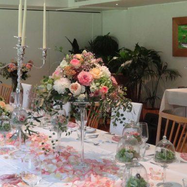 Räume | Tischdekoration Rosen
