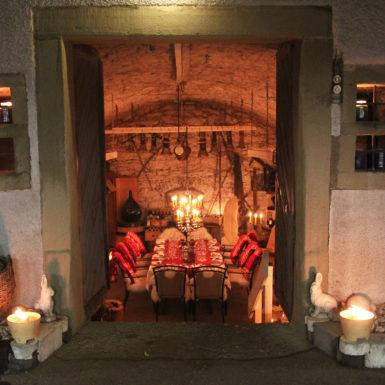 Keller | Eingang zum Gewölbekeller